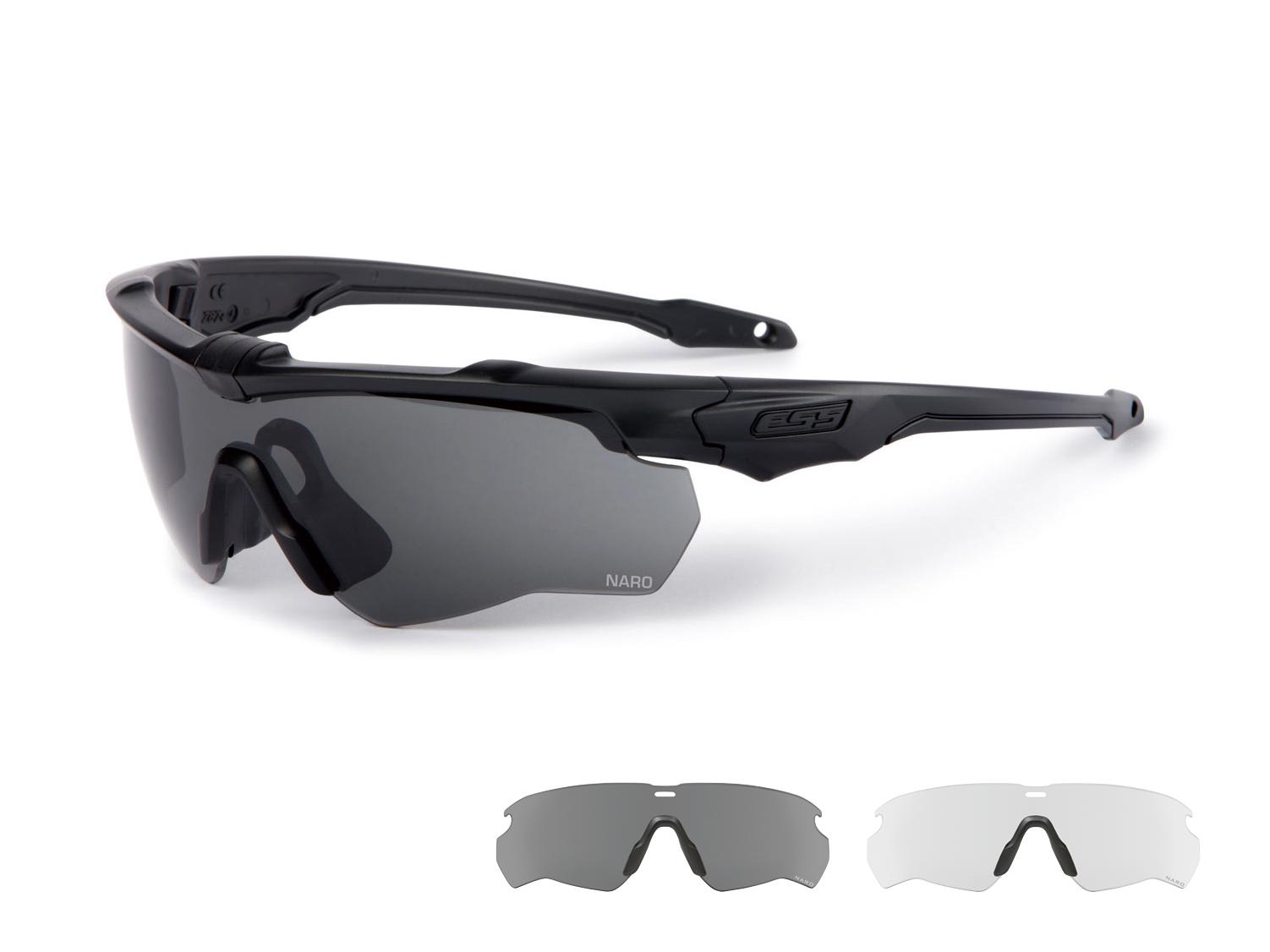 EE9034-01フレーム:ブラック レンズ:クリアー・スモークグレイ