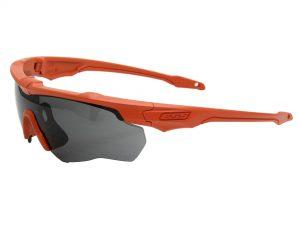 EE9034-102フレーム:サンライズオレンジ、レンズ:スモークグレイ