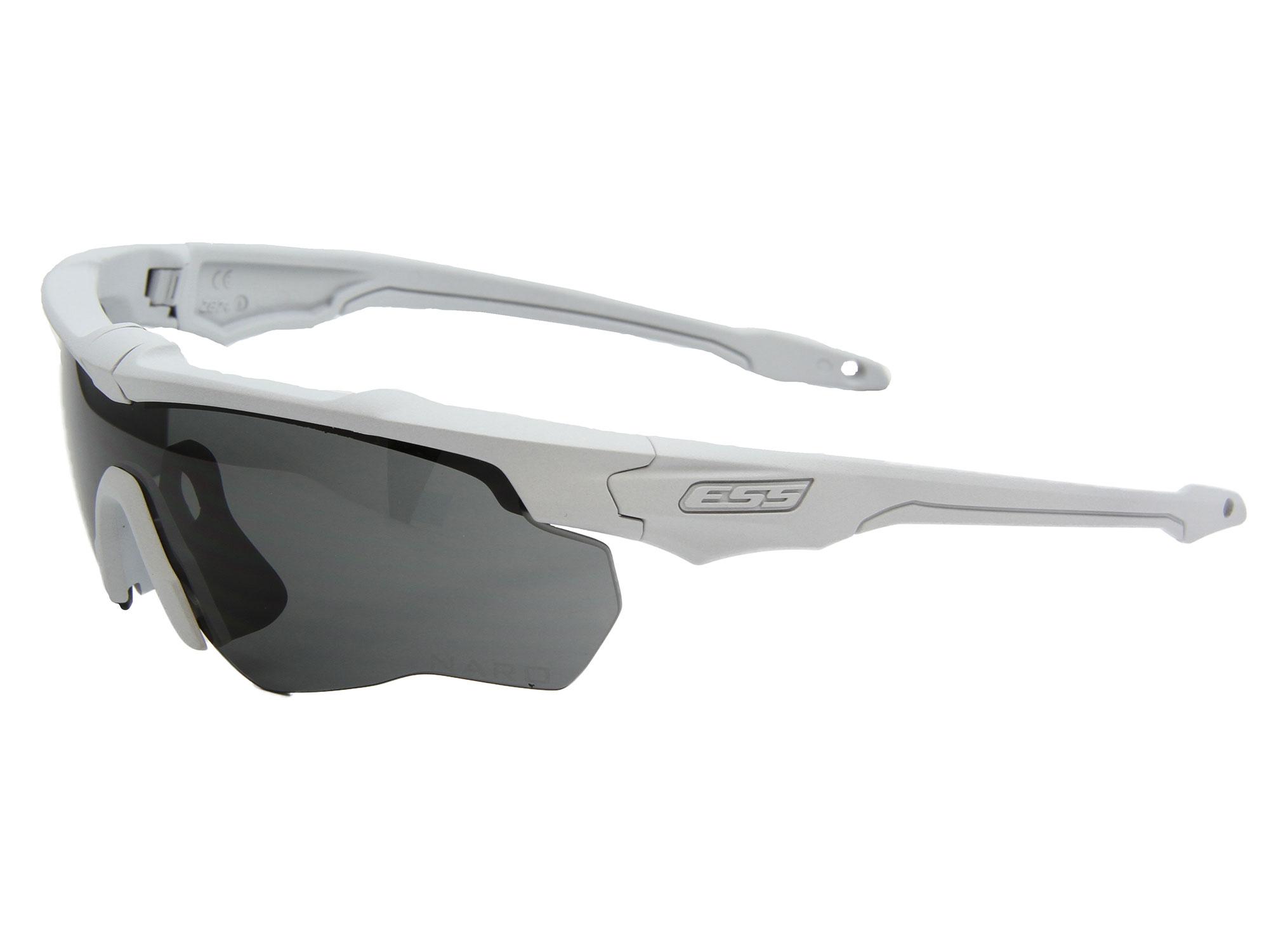 EE9034-103フレーム:ヒデンホワイト、レンズ:スモークグレイ