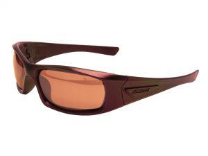 EE9006-104フレーム:メタリックレッドパープル、レンズ:ミラーコッパー