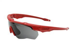 EE9034-106フレーム:レッド、レンズ:スモークグレイ