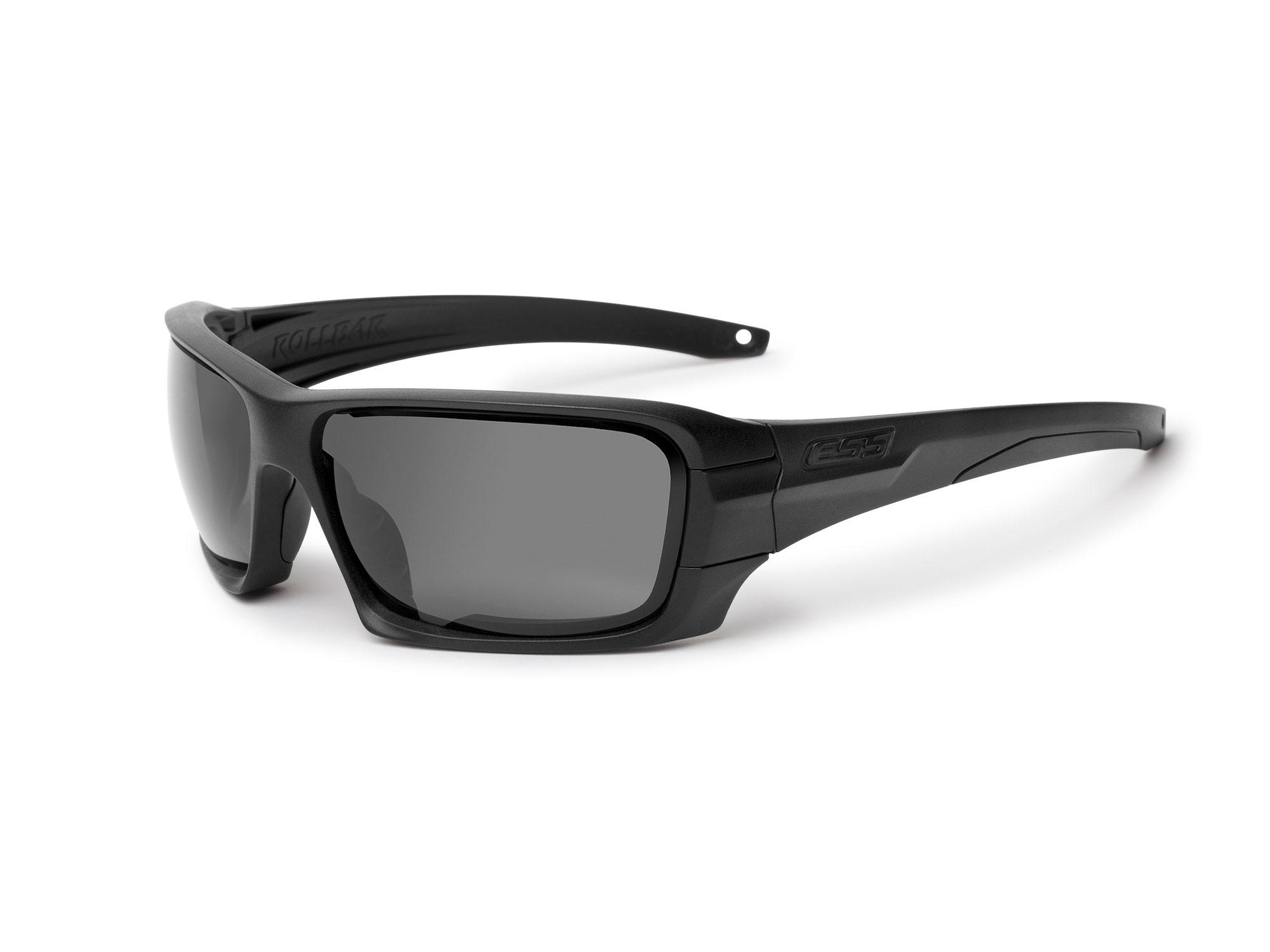 EE9018-02 フレーム:ブラック、レンズ:クリアー、スモークグレイ / ブラックLOGO