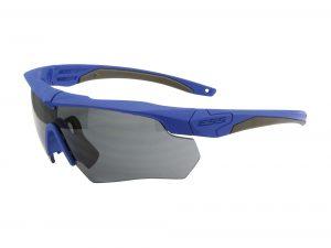 740-1001フレーム:ブルー、レンズ:スモークグレイ