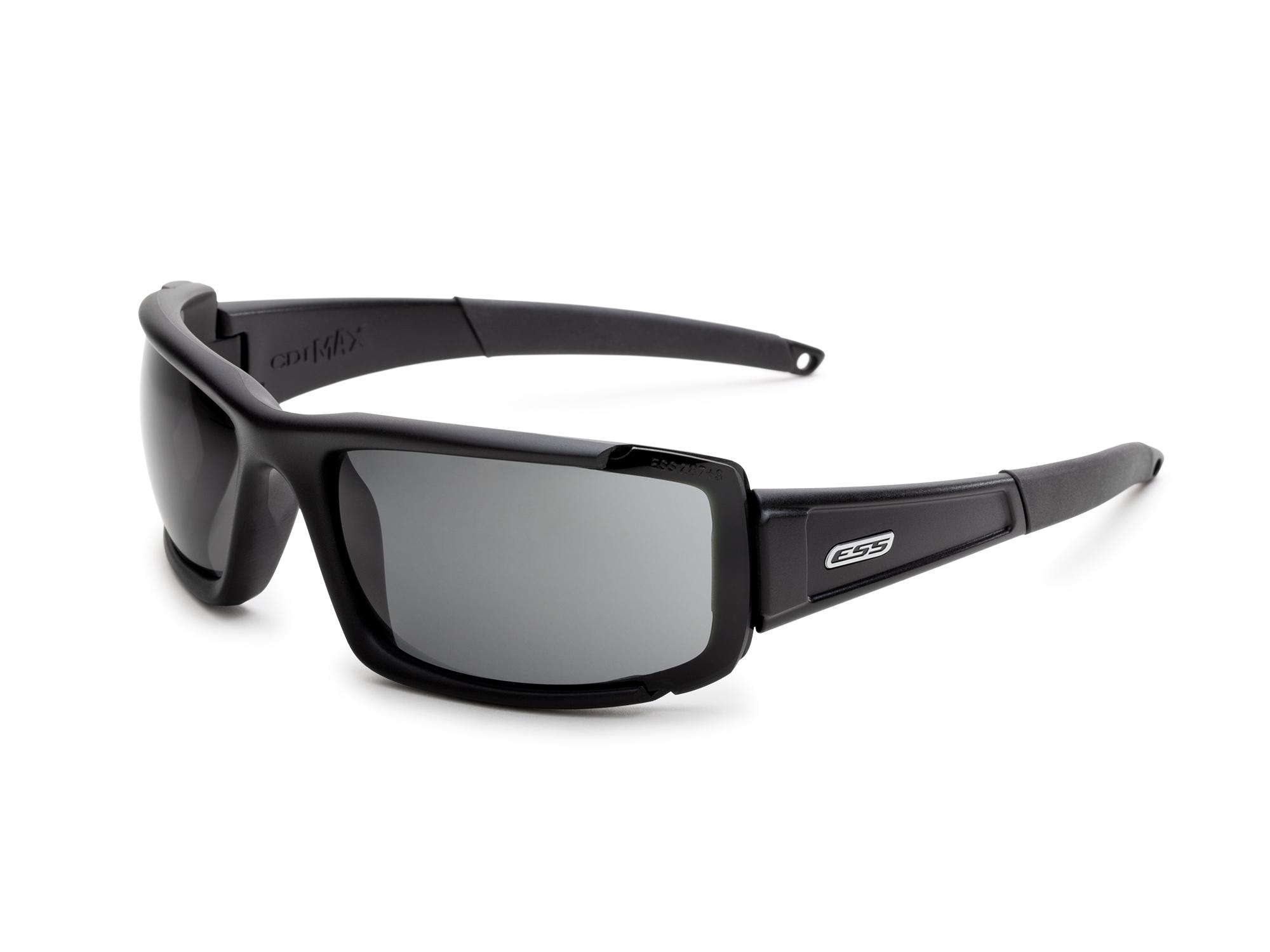 740-0297フレーム:ブラック レンズ:クリアー・スモークグレイ