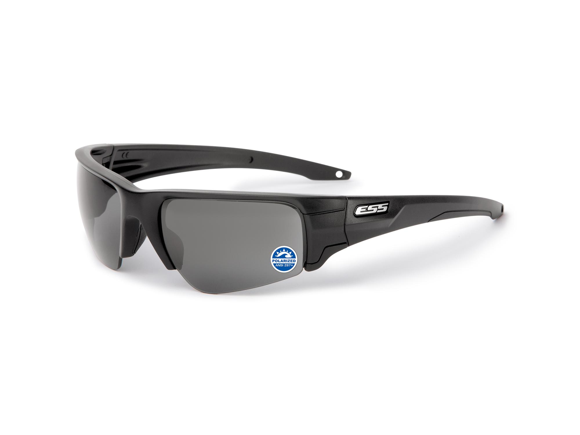 EE9019-03 フレーム:ブラック、レンズ:偏光ミラーグレイ、シルバーLOGO