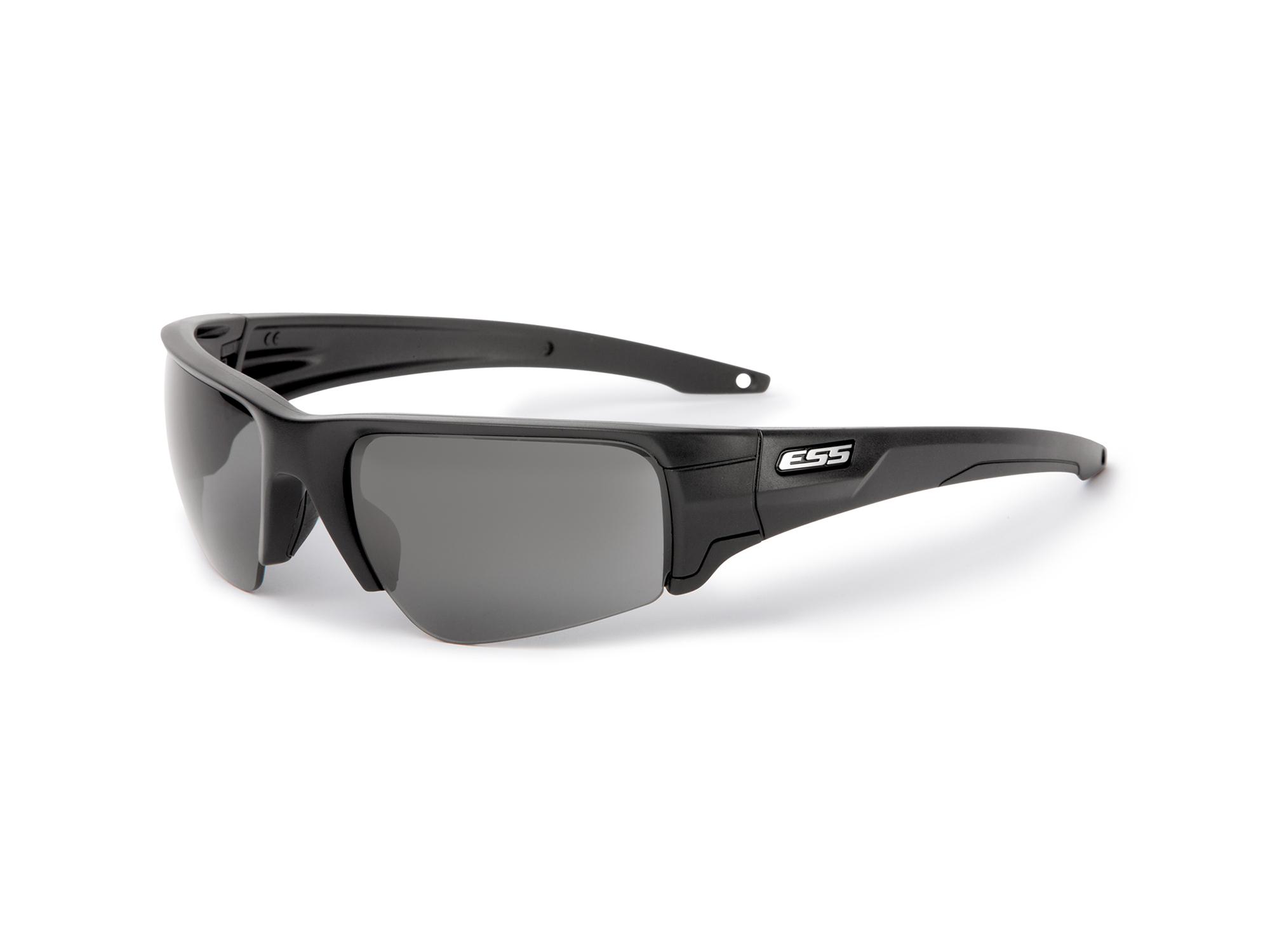 EE9019-02フレーム:ブラック、レンズ:スモークグレイ/クリアー、 シルバーLOGO