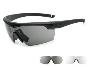 EE9014-04フレーム:ブラック、レンズ:クリアー・スモークグレイ