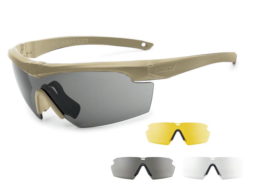 EE9014-09フレーム:テレインタン、レンズ:クリアー・スモークグレイ・ハイデフイエロー