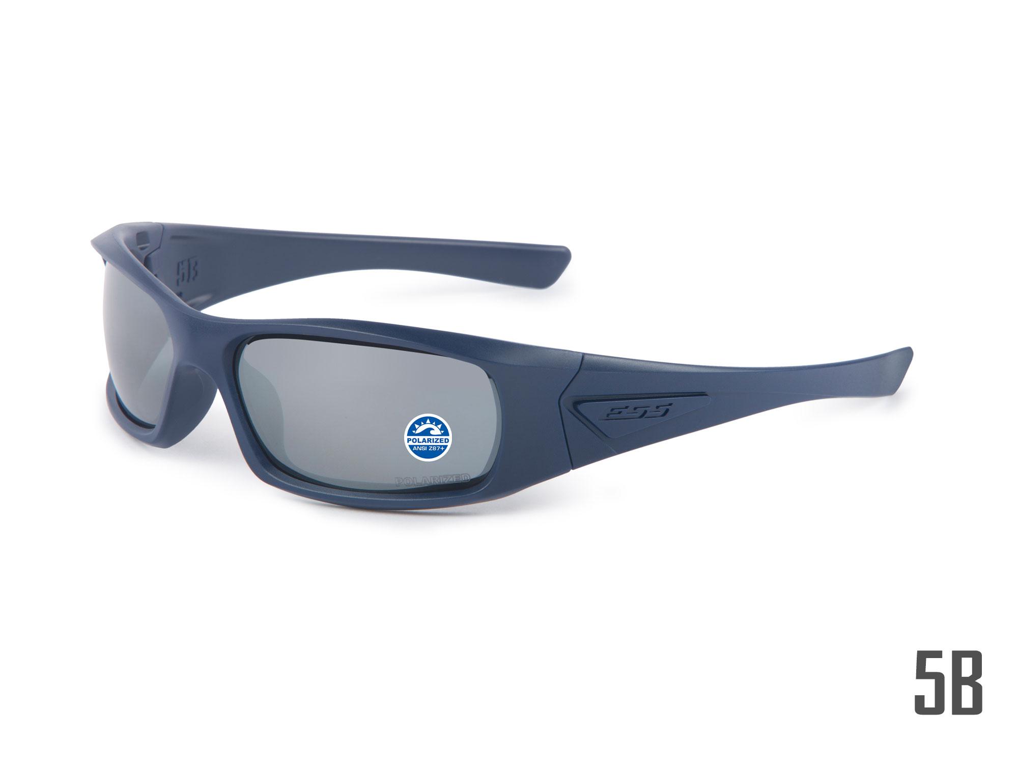 EE9006-19フレーム:マットネイビー レンズ:偏光ミラーグレイ