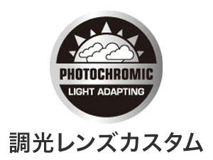 フレーム:ブラック レンズ:調光
